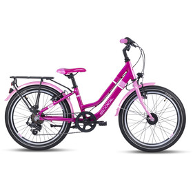 s'cool chiX twin alloy 20 7-S Kinderen, pink/pink